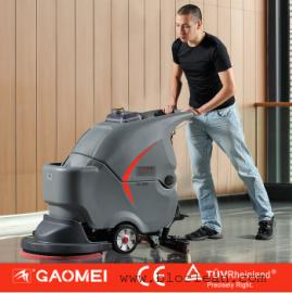 江阴工厂用洗地机|高美手推式全自动洗地机GM50B