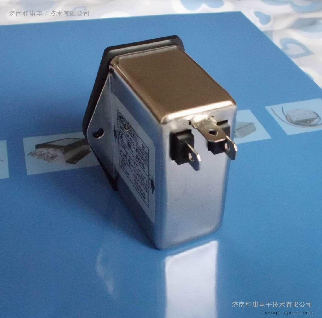 带开关+保险+插座滤波器6A 医疗专用低漏电流220V