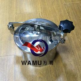 YAB SUS304/316制药机械人孔盖 卫生级常压手孔厂家