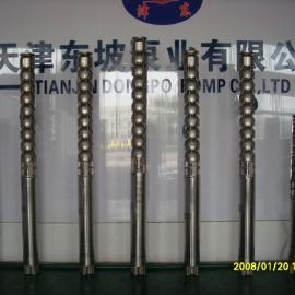 200QJH精铸不锈钢深井潜水泵高扬程热水
