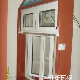 隔热通风消声窗门窗家庭隔音窗智能净化通风消音窗
