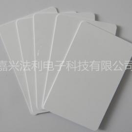 PVC白卡I-CODE-SLIx NXP智能卡0501000016-1高频