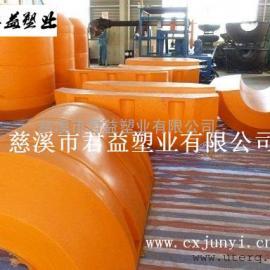 君益牌水上管道塑料浮桶管径300mm