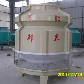 圆形逆流式新型节能玻璃钢冷却塔60T