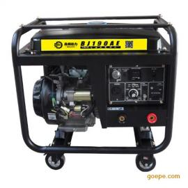 190A汽油工厂焊接专用发电机带电焊机