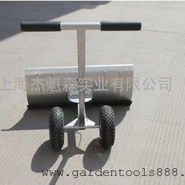 新款全铁加厚黑色轮式推雪铲 轮式铲雪板器