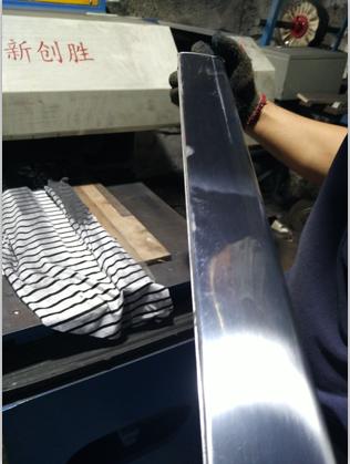 门窗铝型材抛光机
