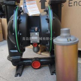 ARO压滤机专用英格索兰气动隔膜泵 铸铁材质型号666272