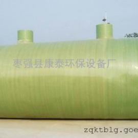 玻璃钢化粪池一体化水处理设备