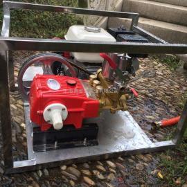 本田WL55高压打药机 电启动 不锈钢框架 防腐蚀 噪音低