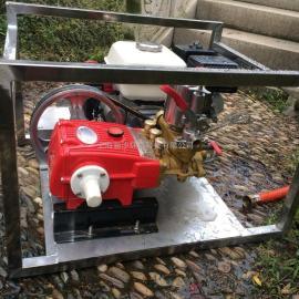 本田打药机 不锈钢框架式打药机 远程高压喷射打药机