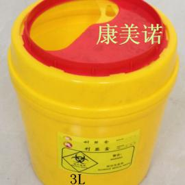 湖北医疗锐器收集盒 3L圆利器盒 全新料厂家直销优质锐器盒
