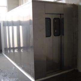 供应红外线人体感应风淋室、双人双吹
