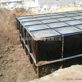 地埋箱泵成套设备厂家 抗浮式地埋箱泵一体化