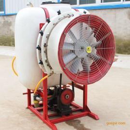 中卫粉料场用降尘风送式喷雾机凯普威厂家现货免费报价