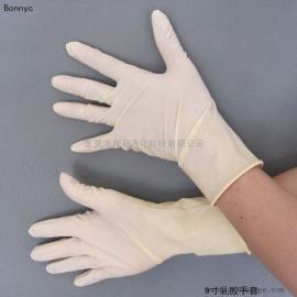 乳胶手套/光面9寸乳胶手套/工业乳胶