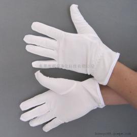 高档礼仪手套,包边无尘手套,不起毛,洁净度高