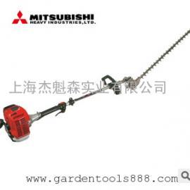 三菱绿篱机宽带修剪机双刃刀汽油机伸长可达1.5米