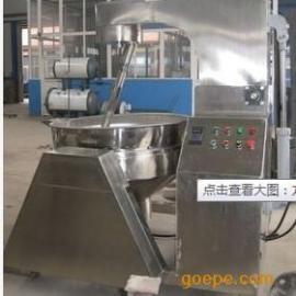 供应高品质牛肉干炒锅 蒸汽行星搅拌夹层锅 太极机械 搅拌夹层锅