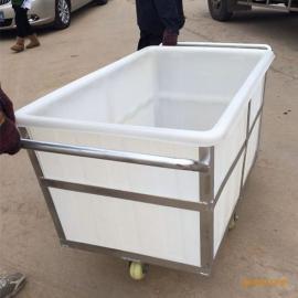 供应K1200LPE塑料水箱方形周转箱家用养塑料方箱
