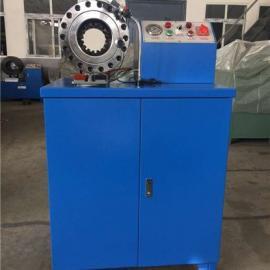 西藏拉萨液压胶管扣压机,高压扣管机制造厂