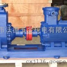 �P式自吸式�o堵塞排污泵 自吸污水泵200ZW300-25
