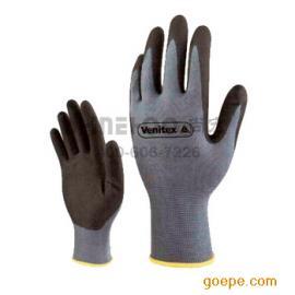 PU涂层针织手套精细操作手套 涂胶手套代尔塔 201705