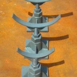 *生产支吊架镀锌槽钢管夹支座可调节不锈钢支座质美价廉