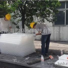 斜板填料的安装方式,小间距斜板填料,斜板填料与斜管填料