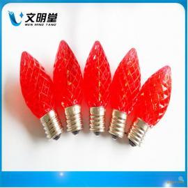 LED圣诞灯 ,C9草莓灯, 节日灯 彩灯,装饰灯,E17灯泡