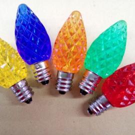 C7草莓灯 LED圣诞灯 彩灯 节日灯,装饰灯,E12灯泡