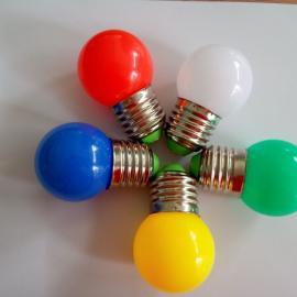 G45球泡灯 LED圣诞灯 装饰灯 节日灯 彩灯,14灯,E27灯泡