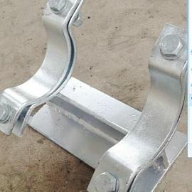 生产销售弹簧支吊架不锈钢管托固定支座现货