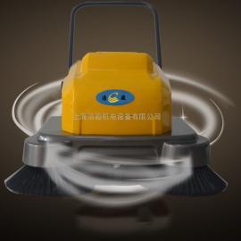 手推式扫地机工厂扫地机车间用电瓶式扫地车工物业小区道路清扫车