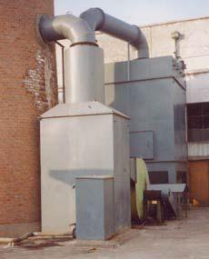 洗煤厂筛分车间除尘器 洗煤厂取暖锅炉除尘器