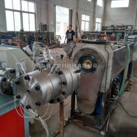 锋达SJ90塑料PE碳素螺旋管生产线