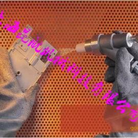 济南带颗粒橡胶喷砂手套 耐磨橡胶喷砂手套 喷砂防护手套