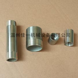 不锈钢管子丝/不锈钢光面接头/单头丝/双头丝/内丝/外丝
