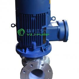 管道泵:IRG户外型不锈钢单级热水泵|单吸热水循环泵