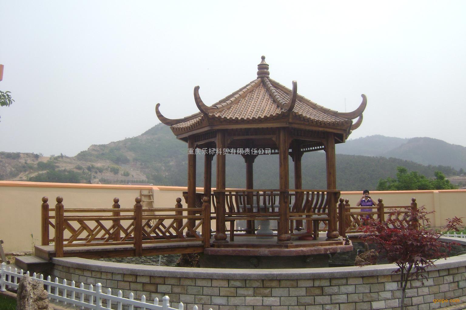 贵州遵义生态木屋 防腐木木房子