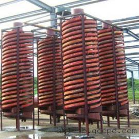 洗煤分选螺旋溜槽 玻璃钢螺旋溜槽参数 5LL-1500螺旋溜槽多少钱