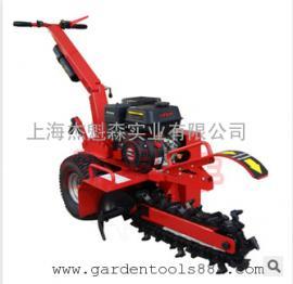 卡夫园林开沟机DR-TR-70手扶链式开沟机挖沟农业果园