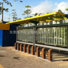 彩钢不锈钢候车亭,公交站台制作厂家定做