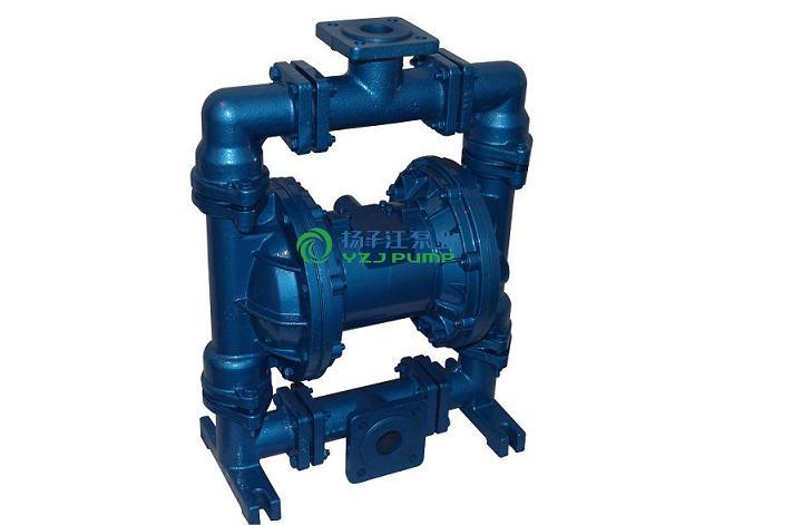隔膜泵:QBYC-F46衬氟气动隔膜泵