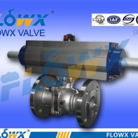 三段式气动球阀配防爆电磁阀EXMDIIBT4、DC24V