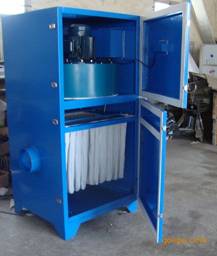 钢板布袋式单机除尘器-除尘器-移动式单机除尘器