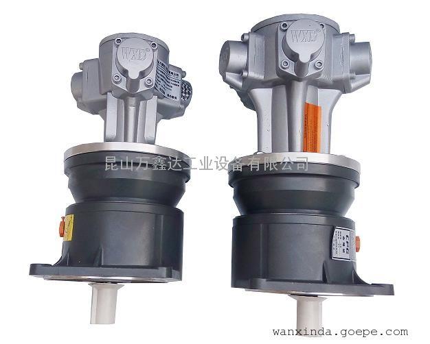 厂价直销万鑫达WXDM3-JF 气动减速马达 防爆气动马达