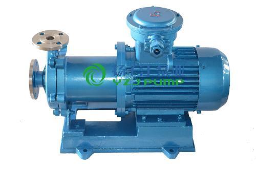 磁力泵:CQB-L防爆不锈钢立式磁力管道泵