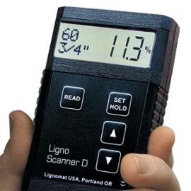 感应式木材湿度计Scanner D 非破坏性含水率测量仪