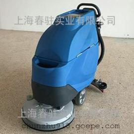 进口品质电动洗地机T3e手推式工业用洗地机 大型超市洗地机